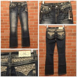 Miss Me jeans Chloe Boot size 25 (HH30)